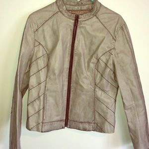 Real leather jacket. Perfect condition.